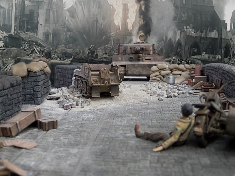 Armorama :: Saving Private Ryan Diorama: armorama.com/modules.php?op=modload&name=SquawkBox&file=index&req...