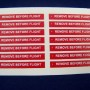 Remove before Flight Flags3