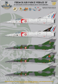 Mirage 5F Decals (1)