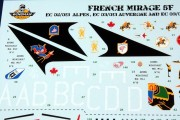 Mirage 5F Decals (7)