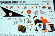 Mirage 5F Decals (8)