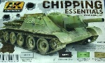 AK-Interactive's, Chipping Essentials Weathering Set